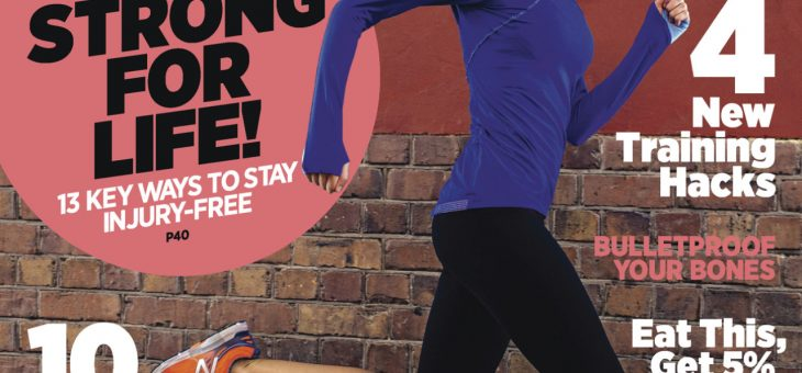 Runner's World Magazine: The New Science of Bone Health.