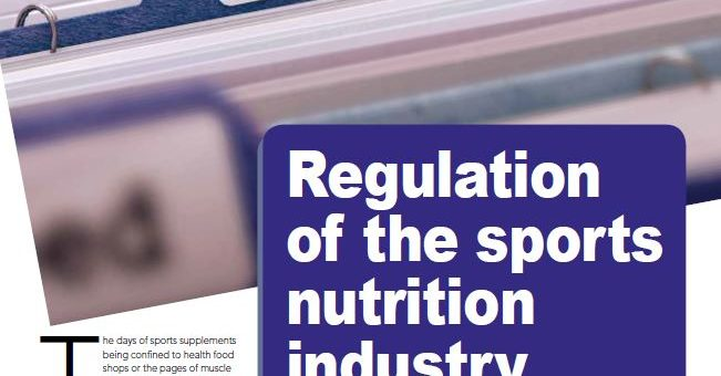 FSN Magazine Feature: Nutrition Industry Regulations